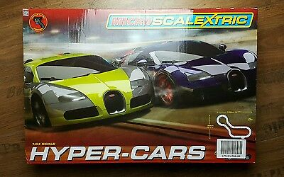 Micro Scalextric Hyper- Cars - Mastab 1:64 - Modell - Hornby