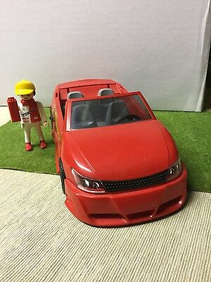 Playmobil voiture rouge cabriolet tuning