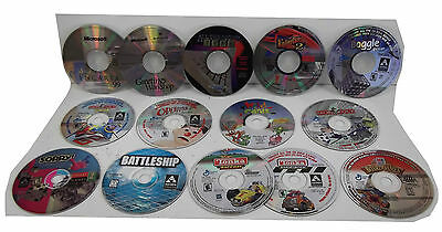 Lot of 14 Used PC Games and Software. Discs only.