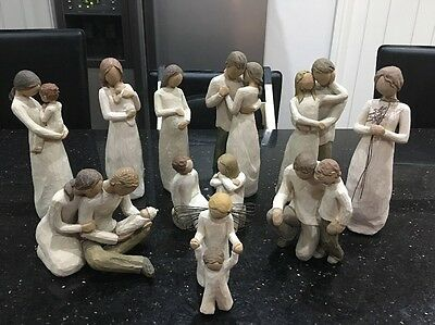 Willow Tree Figure - Father And Son (rare Variant)- Susan Lordi (2000)