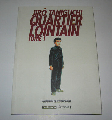 Quartier Lointain T.1 2002 Ttbe ! (C012) Taniguchi,casterman,manga,japon,japan