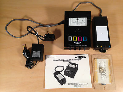 Melico Mk III Linearised Colour Analyser Vintage Photography Darkroom Developing