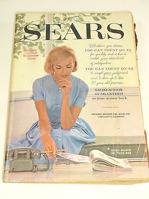 Vintage - 1963  SEARS  SPRING  AND  SUMMER  CATALOG  -  1543  PAGES