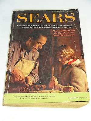 Vintage - Sears Fall and Winter Catalog 1962 - Chicago Illinois,  1515 Pages