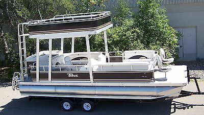 New -24 Ft triple tube pontoon boat---One only