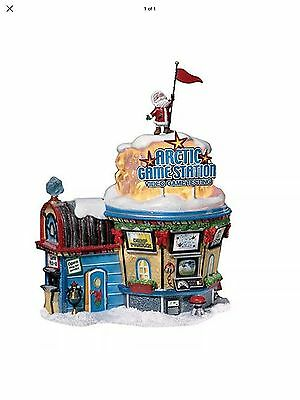 Department 56 Elf Land Arctic Game Station 56779