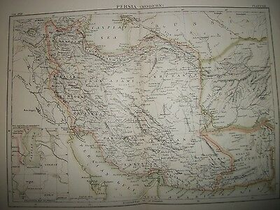 Antique Iran Maps-Modern and Ancient