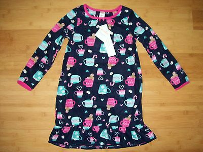 NWT Gymboree Girls Size M 7 - 8 Hot Cocoa Nightgown Gymmies / Pajamas NEW