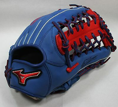 Mizuno GMVP1277PSE3(Royal/Red) Outfield Glove(Right-Handed Thrower)