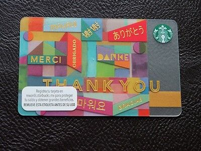 starbucks mexico mint gift card-........
