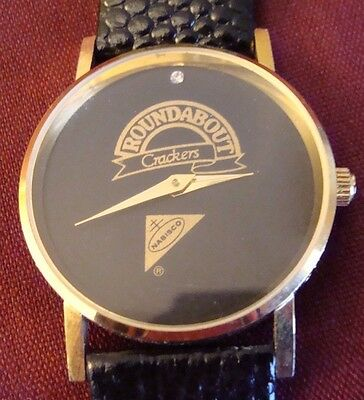 NABISCO Criterion Wrist Watch Collectors Roundabout Crackers