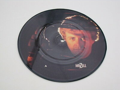 Hazell Theme Tune Picture Disc 45 Rpm Record By Maggie Bell.