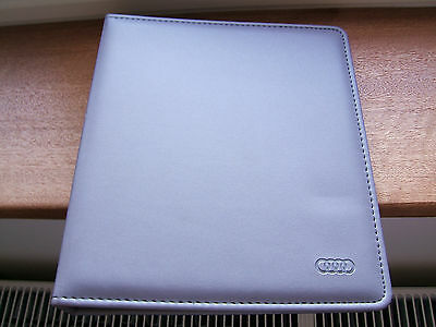 Audi wallet for  MOT certificates, receipts used good condition