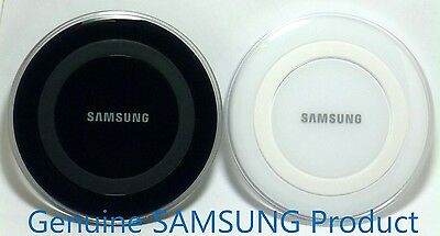 Genuine Samsung Wireless Charging Pad for Galaxy S6/S7,Note 5 & Qi-enabled phone