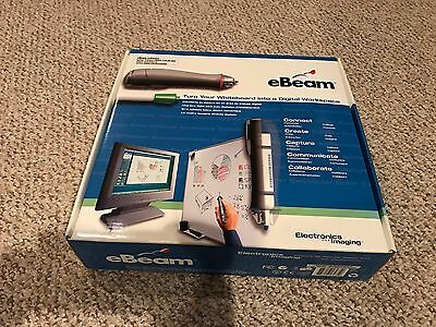 Never Used eBeam Electronics Imaging Digital Whiteboard Interactive System!