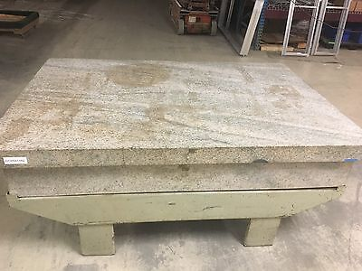 Herman Stone  Granite Inspection Surface Plate 48 X 72 X 12 Thick