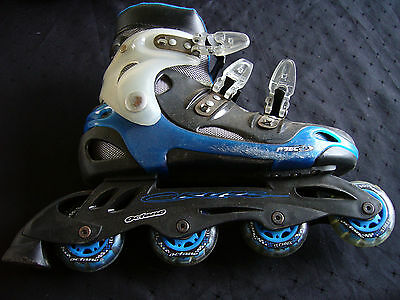 BLUE Roller Blade Octane Cruzz Technix Inline Skate GREAT CONDITION SIZE ??