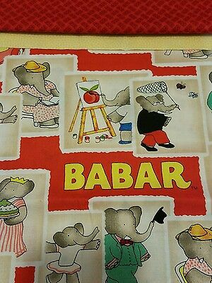 Embroidered Personalized STANDARD Pillowcase Babar