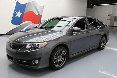 2014 Toyota Camry  2014 TOYOTA CAMRY SE AUTO REAR CAM PADDLE SHIFTERS 44K #428843 Texas Direct Auto