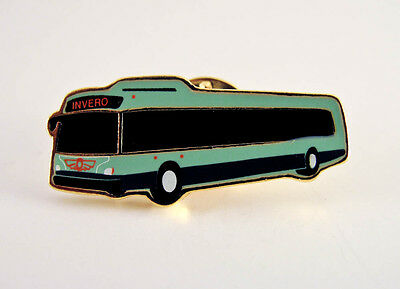 New Flyer Industries - Retro Invero Bus Pin - Lapel Pin - PinBack - Brooch