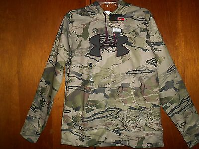 womens under armour RIDGE REAPER CAMO STORM 1 water resistant hoodie LG/G NWT