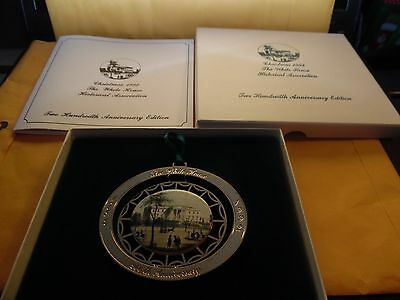 1992 White House Historical Association Christmas Ornament 200 years Anniversary