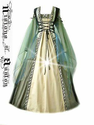medieval dress costume medievaldress garb Renaissance larp celtic tudor gothic