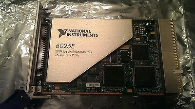 National Instruments PXI-6025E