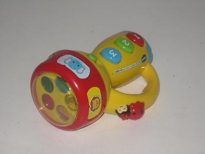 Vtech Spin & Learn Color Flashlight Educational Learning Toy For Toddler