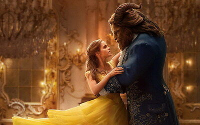 "7839 Hot Movie TV Shows - Beauty and the Beast 2017 6 22""x14"" Poster"