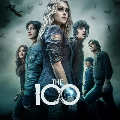 "8641 Hot Movie TV Shows - The 100 34 14""x14"" Poster"
