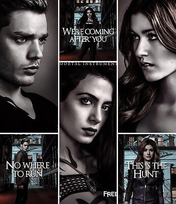 "8519 Hot Movie TV Shows - Shadowhunters 2017 9 14""x16"" Poster"