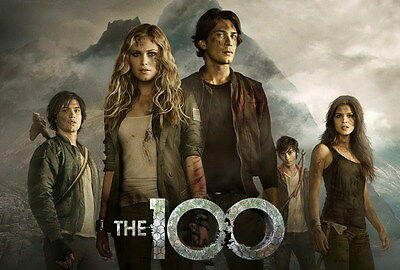 "8635 Hot Movie TV Shows - The 100 29 20""x14"" Poster"