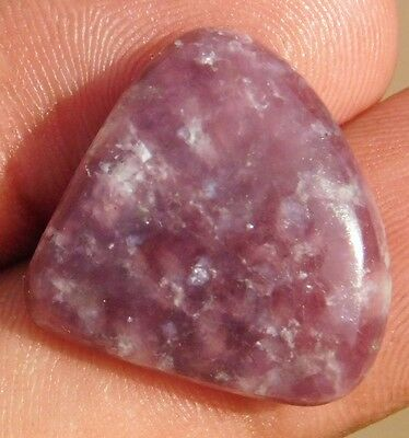22.05Cts Exclusive A+ 100% Natural Lepidolite  Nice Cabochon Loose Gemstone
