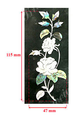 Floral Mop & Abalone  Inlay Marker, Inlay Furniture, Wood / Home Decor (3-1)