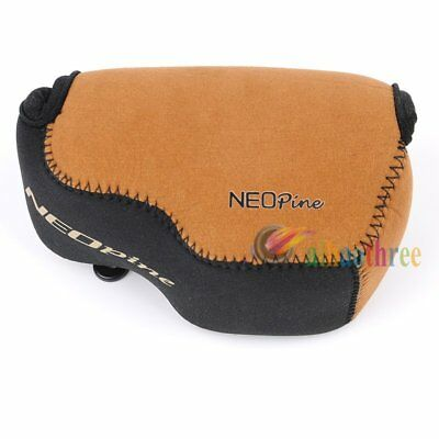 NEOpine Neoprene Waterproof Camera Lens Protector Case Bag Cover For Sony A6000