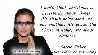 """MX17978 Carrie Fisher - American Actress Princess Leia Star 24""""x14"""" Poster_17978"""
