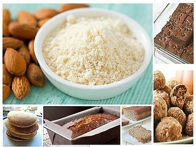 Almond Flour Powder Gluten Free High Protein Low Carb Brain Food 100% Quality