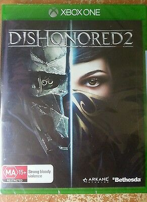 Dishonored 2 xbox one  brand new sealed