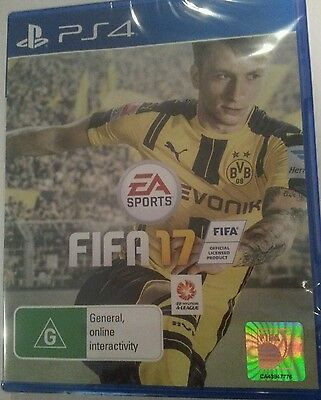 Fifa 17 On PlayStation 4 Brand New sealed