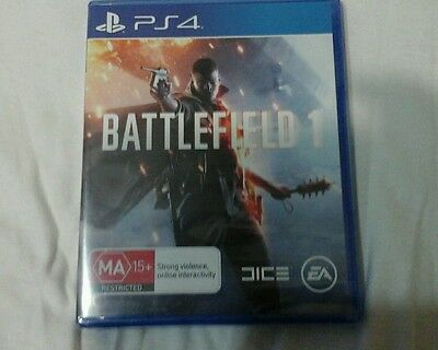 Battlefield 1 On PlayStation 4 Brand New sealed