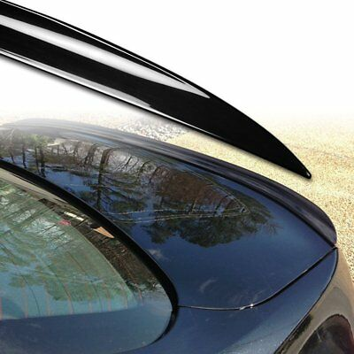 Painted Black For BMW 7 Series F01 Saloon 09-17 Boot Lip Spoiler S Type