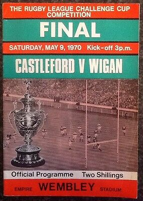 The Rl Challenge Cup 1970 Final Rugby League Programme / Memorabilia