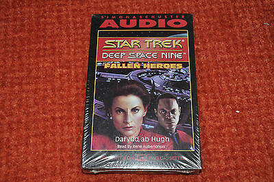 STAR TREK - DEEP SPACE NINE Fallen Heroes. 2 Cassette Tape Sealed Pack. 1994