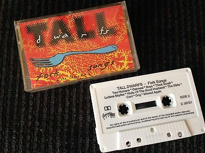 TALL DWARFS fork songs + dogma EP RARE promo tape NZ clean dead c Flying Nun LP