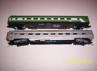 Model Train N Gauge Carriages Con Cur Atlas
