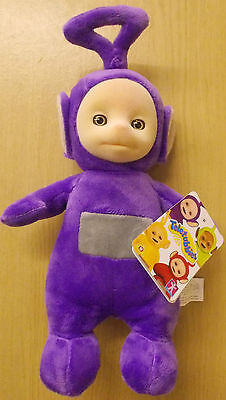 """Teletubbies ~ Talking Tinky Winky ~ Supersoft Plush 10"""" (27 cm) Soft Toy"""