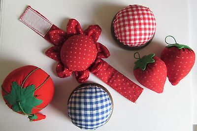 PIN CUSHION Choice of 5 Styles -  Ideal for Home Sewing, Tailoring and Crafters