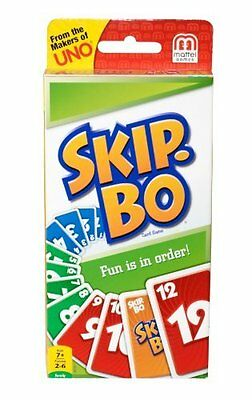 Skip Bo Card Game - 52370 - New