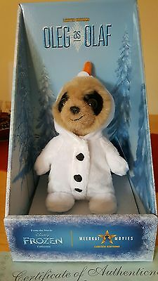 Oleg As Olaf Meerkat Toy Limited Edition Compare The Market Brand New